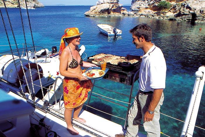Katamaran Ausflug Bucht von Palma