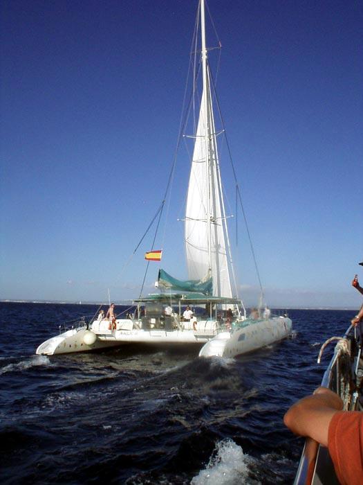 Katamaran Magic Taiti 75