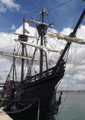 Historisches Schiff Palma de Mallorca