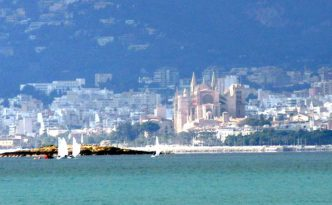 Ansicht Kathedrale vom Meer