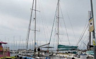 Katamarane-Hafen-Palma