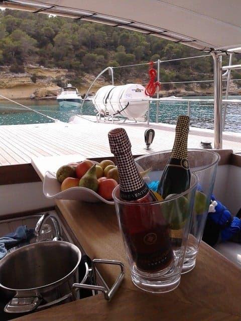 Open Bar Katamaran und Schiffe Mallorca